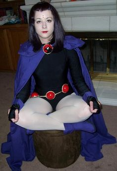 Raven. If I was going to dress up for Halloween it would definitely be Raven. Love Teen Titans.