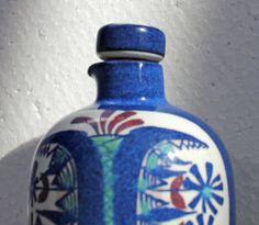 Mid Century  ROYAL COPENHAGEN Fajance Pottery Jar, Lid Marianne Johnson 153/298