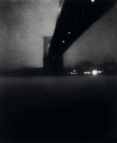 Edward Steichen, Brooklyn Bridge.