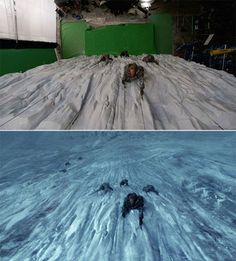 Game of Thrones: Before and after green screen + CGI (3)