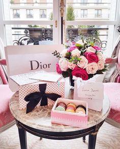 Plaza Athenee + Dior