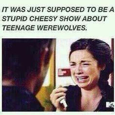 Is it funny that I actually DID feel this way at first? Bc the poster for season 1 looked a bit cheesy, but I love wolves so...