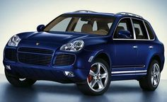 Porsche SUV Cayenne - Beauty meets function. Next family truckster. Navy blue, tan leather interior... I'll probably end up with a Mazda, not the same, sigh...