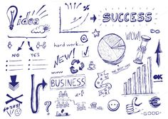 Check out Business success hand drawn icons by davidpereiras on Creative Market
