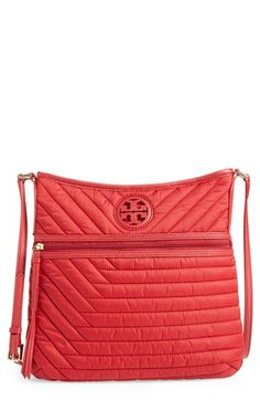 Tory Burch Quilted Nylon Swingpack available at #Nordstrom