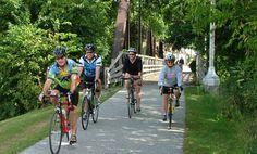 Bike trails in MN