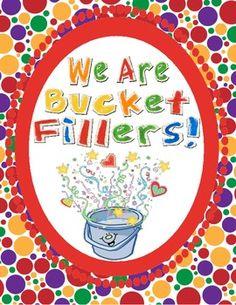 Bucket Filler Starter Kit (FREEBIE) - Mel D - TeachersPayTeachers.com