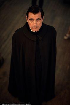 Nightmarish: Dracula co-creator Mark Gatiss revealed this month at the show's premiere tha. Dracula Actor, Dracula Series, Dracula Untold, Count Dracula, Sherlock Quotes, Sherlock Bbc, Bbc Drink, Miranda Bbc, The Paradise Bbc