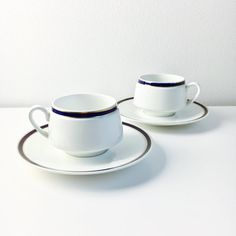 Big Arabia Finland Porcelain coffee cup with saucer named