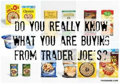 Trader Joes & Their Lack of Transparency, if you care to know what's in your food, via Food Babe