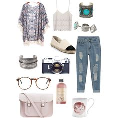 Chilling w/ sis' by camilla-tartaglia on Polyvore featuring polyvore, mode, style, Tory Burch, The Cambridge Satchel Company, ASOS, MANGO, Forever 21 and Grow Gorgeous