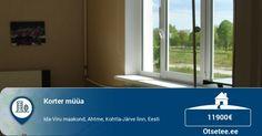 Müüa korter, 3 tuba - Ahtme, Kohtla-Järve, Ida-Virumaa - https://otsetee.ee/kinnisvara/muua-korter-3-tuba-ahtme-kohtla-jarve-ida-virumaa/ #Otsetee
