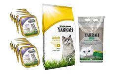 4 kg di cibo bio per gatti + 7 kg di sabbia Yarrah con spedizione gratuita!  #yarrah #biologico #gatto #offerta