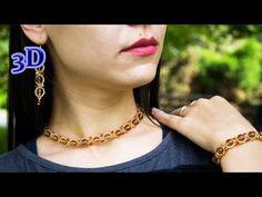 Exquisite Beaded Jewelry Set. 3D Beading Tutorial - YouTube