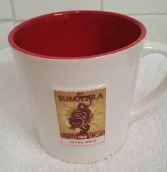 Starbucks 2006 Sumatra Extra Bold 16oz Coffee Mug (Tiger) #Starbucks