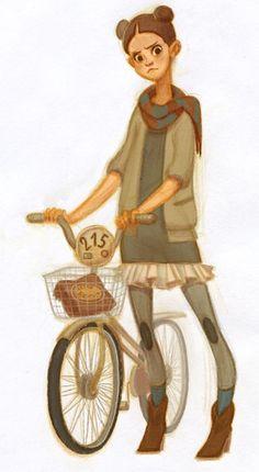 La bici es cosa de niñas