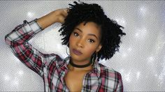 Braid Out on Short/Awkward Length Natural Hair - http://blackhairinformation.com/video-gallery/braid-shortawkward-length-natural-hair/