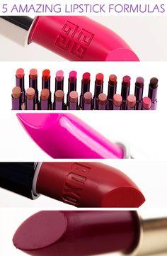 5 Amazing Lipstick Formulas - Temptalia Beauty Blog: Makeup Reviews, Beauty Tips