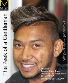 The peek of a gentleman #GUYSWITHSTYLE #GUYFASHION #MENSTYLE #MENOFINSTAGRAM signature #cut and #styled by senior #stylist Taurique Behardien #Mitch #Paulmitchell in #Bokaap #Capetown #Salon #Tonsorialhair
