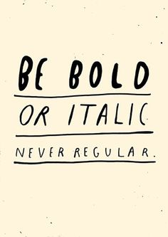 never regular #quote #inspiring | www.grabyourbags.nl