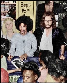 Prince with Owen Husney 1978 Not looking thrilled - neither of them Young Prince, My Prince, High School Memories, Natalie Cole, Why I Love Him, Pictures Of Prince, Paisley Park, U & I, Roger Nelson