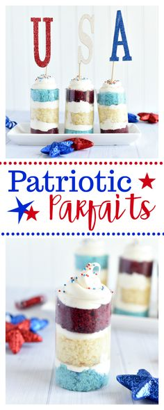 4th of July Parfaits