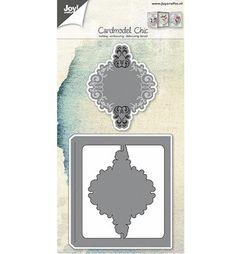 Joy!Crafts mallen 6002/0600 Kaart model sierlijk