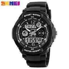 SKMEI Brand Fashion Children Sport Watches Kids Quartz Digital Watch Relogio Relojes Boys Waterproof Girls Wristwatches 1060