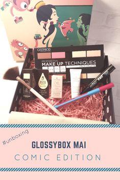 Glossybox Mai 2018 - Comic Edition!