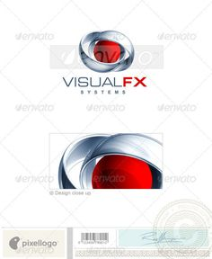 Technology Logo - 3D-388 by pixellogo An excellent logo template suitable for design, multimedia and technology businesses. This is a layered logo template and high re