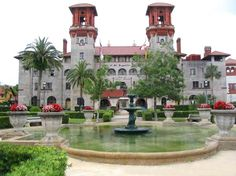 Old Alcazar hotel built by Henry M. Flagler.  Houses the Lightner Museum and the City of St. Augustine Gov't offices.