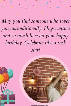Original wishes and messages for your friends on Facebook. Wish them happy birthday with these original wishes. Birthday Wishes For Friend, Love You Unconditionally, Like A Rock, Find Someone Who, For Facebook, So Much Love, Are You Happy, Social Media, Messages