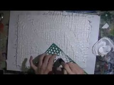 Textured Abstract Art on Canvas Time Lapse. This mixed media canvas art was fun to create. I love experimenting with different art materials. A fully narrate...