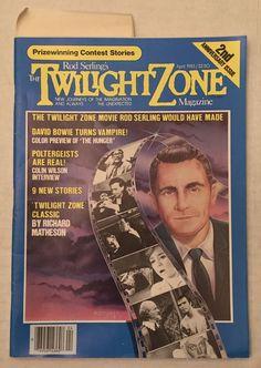 "Twilight Zone Magazine April 1983 HIGH GRADE ""White Mountain Collection"" Bowie    eBay"