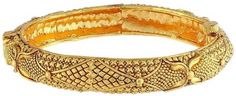 Indian Ethnic Bollywood Gold Plated Open Polki Kangan Jewelry Bangle Bracelet in Jewellery & Watches, Costume Jewellery, Bracelets Bangle Bracelets, Bangles, Indian Party, Ladies Party, Indian Ethnic, Wedding Wear, Party Wear, Costume Jewelry, Bollywood