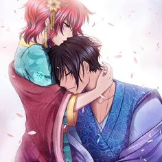 Personagens: Hak e Yona Anime: Akatsuki No Yona - - Anime Akatsuki No Yona, Anime Love, Me Me Me Anime, Manga Anime, Manhwa, Animation, Couple Drawings, Animes Wallpapers, Cute Anime Couples