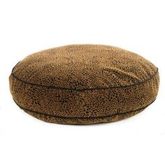 """Bowsers Super Soft Round Dog Pillow Size: Large (44"""" L x 44"""" W), Color: Charcoal"""