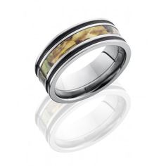 6MM OR 8MM CAMO WEDDING RINGS FOR MEN BEVELED TUNGSTEN http