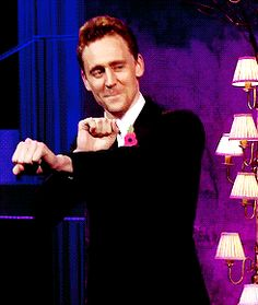 When Tom dances up to you, you go with it.