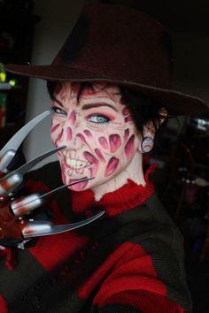 How To Make A Freddy Krueger Sweater Halloween Scorpio Freddy