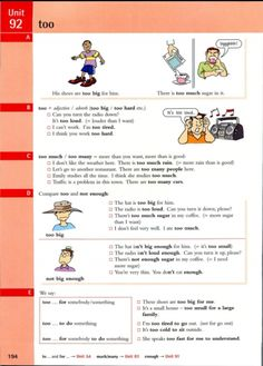 Unit 92 English Grammar Rules, English Adjectives, English Verbs, Learn English Grammar, Grammar Lessons, English Reading, English Book, English Study, English Lessons