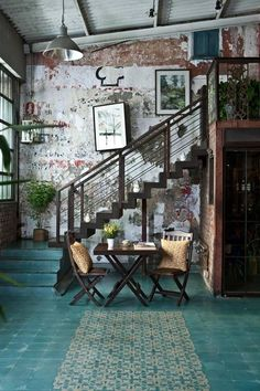 Home House Interior Decorating Design Dwell Furniture Decor Fashion Antique Vintage Modern Contemporary Art Loft Real Estate NYC London Paris Architecture Furniture Inspiration New York YYC YYCRE Calgary Eames StreetArt Building Branding Iden Interior Design Magazine, Home Interior Design, Interior Architecture, Interior And Exterior, Interior Decorating, Decorating Ideas, Interior Ideas, Brick Interior, Vintage Interior Design