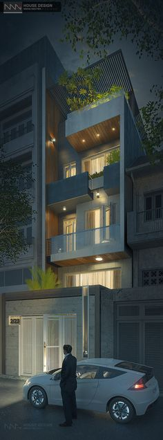 HOUSE design | Thiết kế Nhà Phố - Biệt Thự NNA < NGHIA NGUYEN | architects > (E) nghianguyen0410@gmail.com (B) www.behance.net/nn-a