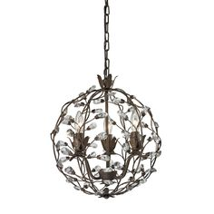 Sagemore 3 Light Pendant In Bronze Rust 18144/3