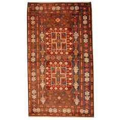 Shop for Herat Oriental Afghan Hand-knotted 1950s Semi-antique Tribal Balouchi Wool Rug (2'9 x 4'9). Get free delivery at Overstock.com - Your Online Area Rugs Shop! Get 5% in rewards with Club O!