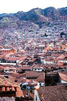 Cusco, Peru. All the colorful buildings made me feel alive. The culture in Peru is so beautiful