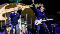 Roger Daltrey and Pete Townshend show how it's done maybe growing old isn't so bad