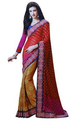ber ideen zu sari kleidung auf pinterest saris. Black Bedroom Furniture Sets. Home Design Ideas