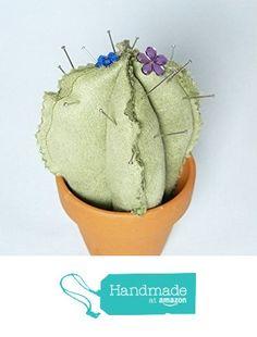NADELKISSEN 'CACTY' No.1 Kaktus im Blumentopf als Nadelkissen - Unikat von der Dragonflys Home https://www.amazon.de/dp/B06WV78KVP/ref=hnd_sw_r_pi_dp_HnTNybB6Y6XA4 #handmadeatamazon
