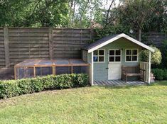 IDEAS - The Big Rabbit Hutch Cat Garden, Rabbit Garden, Home And Garden, Outdoor Rabbit Hutch, Bunny Cages, Bunny Rabbits, Giant Bunny, Rabbit Run, House Rabbit